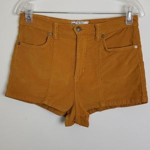 Free People high waisted curdoroy short size 29